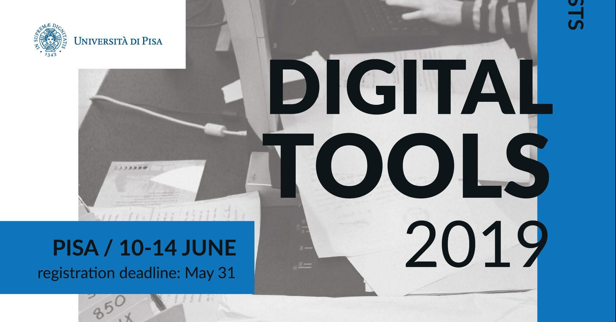 "Summer school ""Digital tools for humanists"" Università di Pisa"