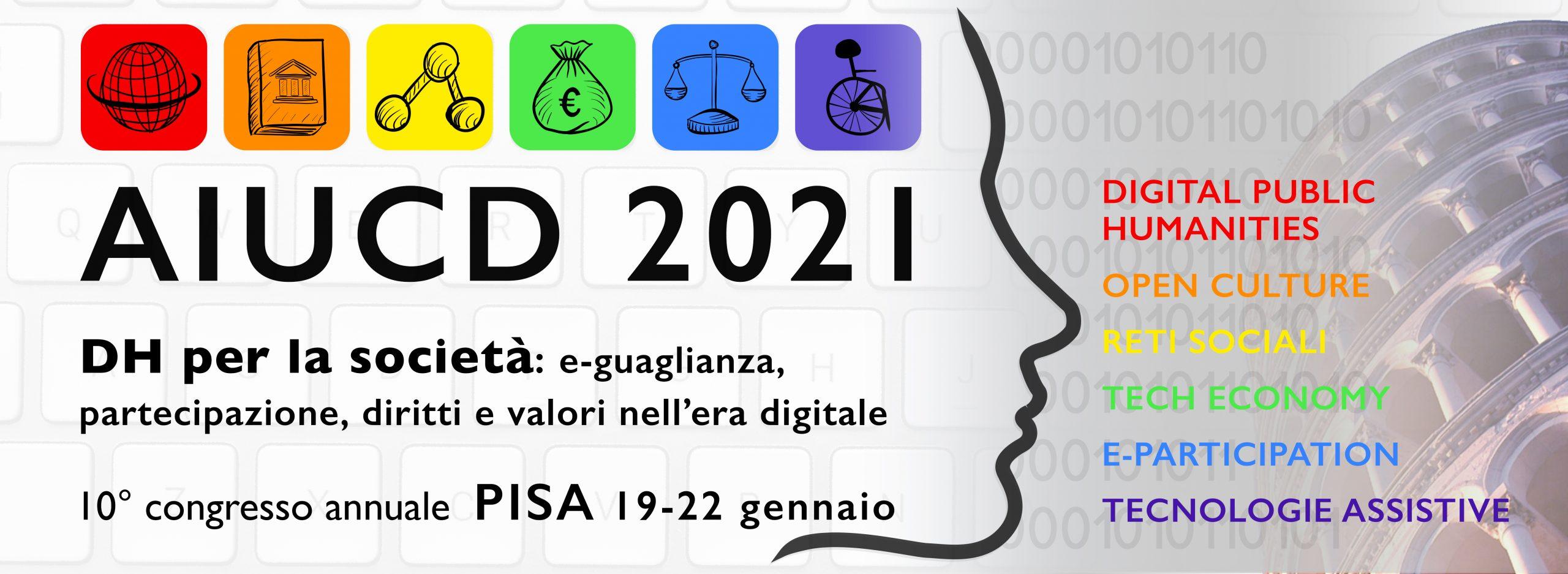 AIUCD 2021 Registrazioni Aperte